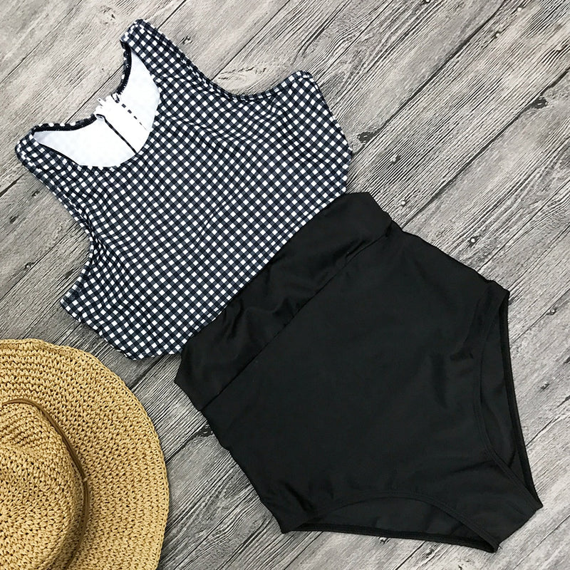 Charlotte One Piece High Neck Swimsuit