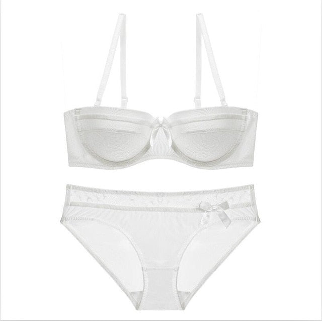 Bright Ellie White Women's Underwear Sets