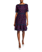 Load image into Gallery viewer, Two Tone Lace Dress