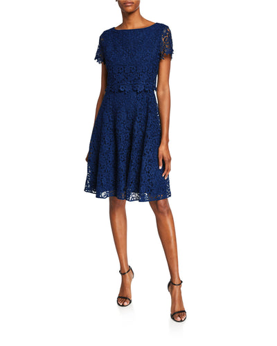 Fit and Flare Popover Lace Dress