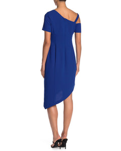 Asymmetric Crepe Dress 2 - Shani Collection