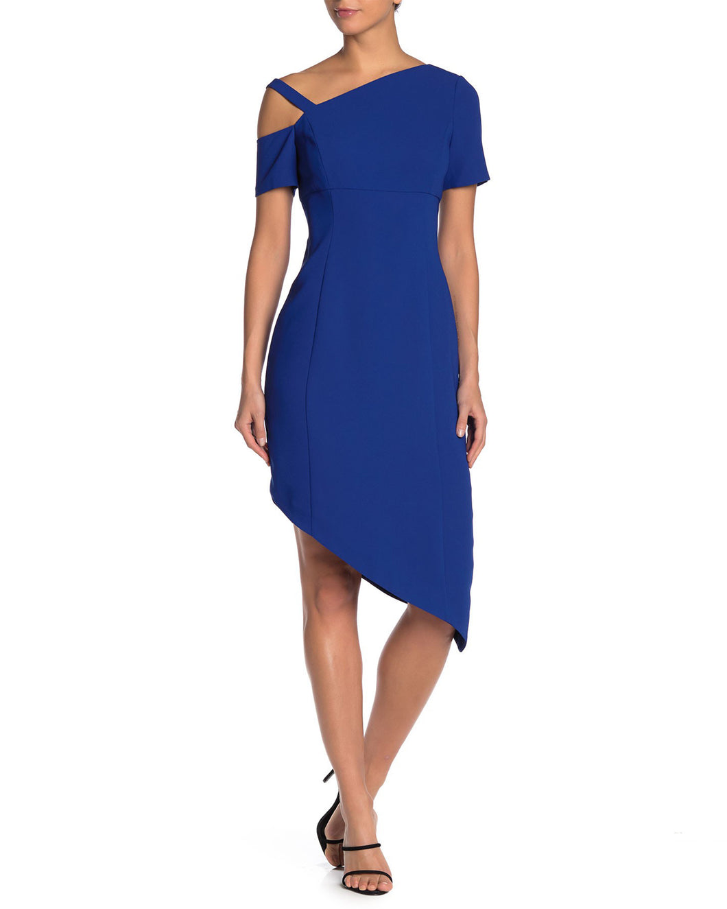 Asymmetric Crepe Dress - Shani Collection