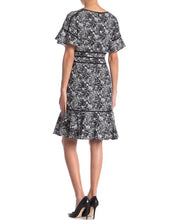 Load image into Gallery viewer, Black/White Printed Dress