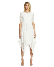 Load image into Gallery viewer, Handkerchief Lace Dress White - 1