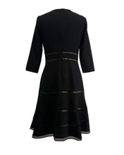 Load image into Gallery viewer, Surplice Crepe Dress with Trim Detail