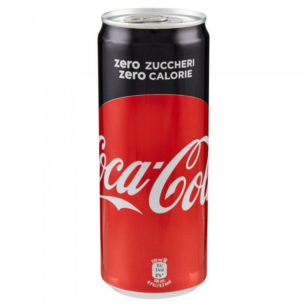 COCA COLA ZERO  LATTINA 33 CL..