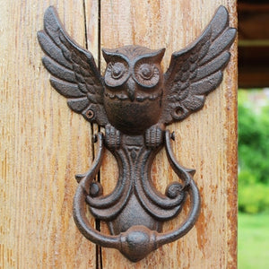 Vintage Owl Door Knocker