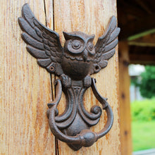 Load image into Gallery viewer, Vintage Owl Door Knocker