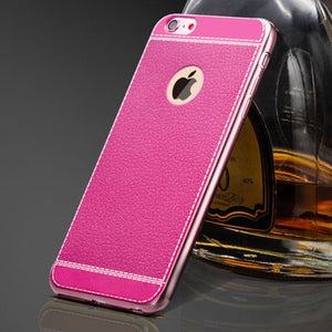 Leather Look iPhone Case