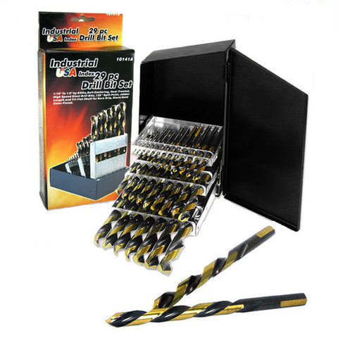 29 Piece USA Drill Bit Set - tool