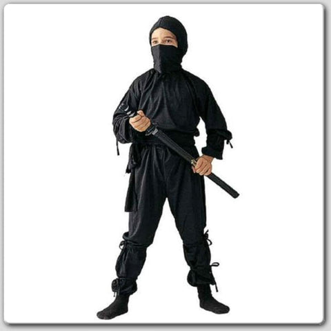 Child's Ninja Costume Outfit - tool