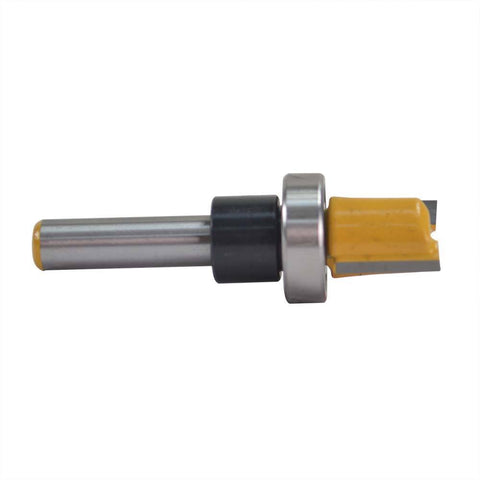 "1/2"" Hinge Template Mortising Router Bit With Top Rail Bearing Guide - tool"