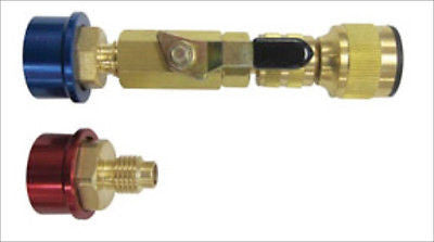 R134 Air Conditioning No Loss Valve Core Removal - JABETC