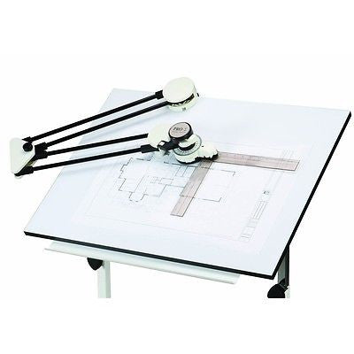 Drafting Ruler Protractor Arm for Draft Drawing Graphic Artist Table Machine - JABETC