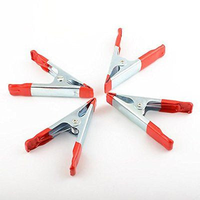 4 Piece Spring Loaded Squeeze Clamp Set - tool