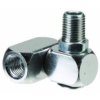 "1/4"" Swivel End Connector Fitting for Air Hose Connecter Swiveling 360 Degree - JABETC"