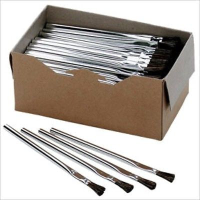Box of Bulk Acid Cleaner Cleaning Small Mini Brushes Shop Hobby Parts Cleaning - tool