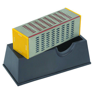 4 Way Diamond Blade Sharpening Block - tool