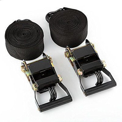 "2"" x 20' Foot Webbing Web Hand Ratchet Tie Down Strap Web Hold Down Ratcheting - JABETC"