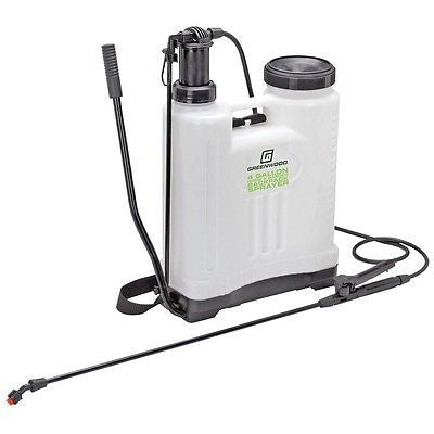 4 Gallon Backpack Tank Garden Liquid Sprayer for Pesticide Chemical Weed Sealer - tool