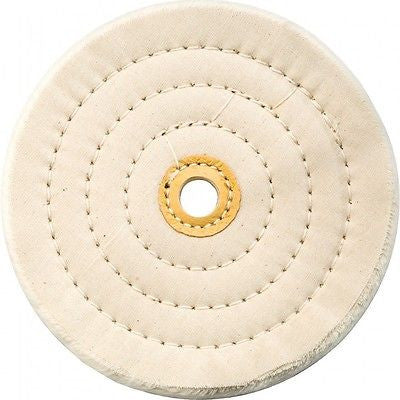 "6"" Cotton Buffing Wheel for Bench Grinder - tool"