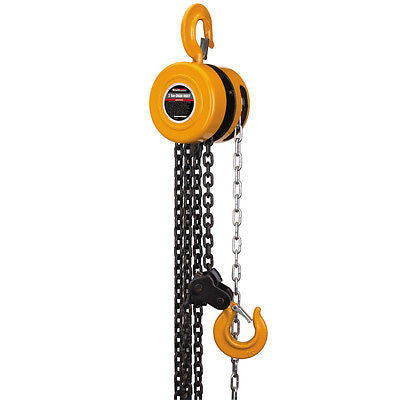 1 Ton Manual Engine Hoist Block and Tackle Lift - JABETC - 1