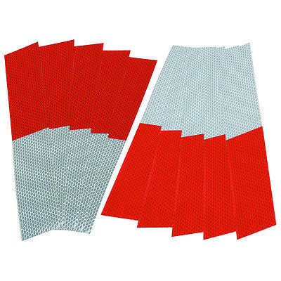 Reflective Conspictuity Sticker Strips Markings for Truck Trailer Conspicuity - JABETC