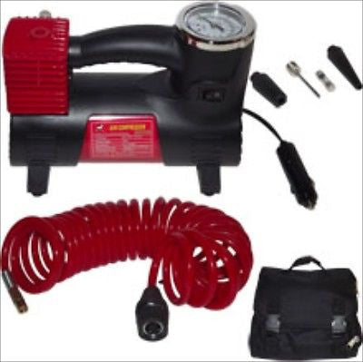 12V Battery Portable Air Compressor Car Auto Tire Inflator Pump Tool - tool