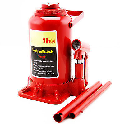 20 Ton Hydraulic Lift Bottle Jack for Bearing Press Lifting - JABETC
