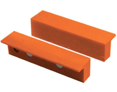 "4"" Plastic Magnetic Soft Jaw Pads for Metal Vise - tool"