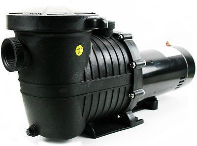 1.5 Hp Replacement Swimming Pool Water Pump with Strainer Basket Filter Unit - JABETC