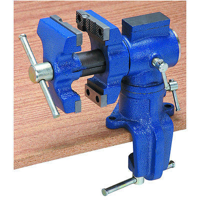 Mini Bench Clamp On Swiveling Vise - tool