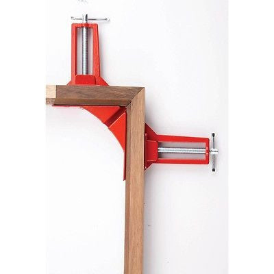 Picture Frame Miter Mitre Corner Clamp for Wood 90 Degree Vise Holder Angle Jig - JABETC - 1