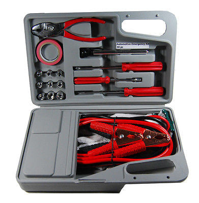 Emergency Tool Kit with Jumper Cables - JABETC