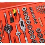 Metric and SAE Steel Tap & Die Set - JABETC - 2