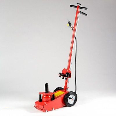 22 Ton Air Powered Power Over Hydraulic Bottle Truck Axle Floor Jack Lift Axle - JABETC - 1