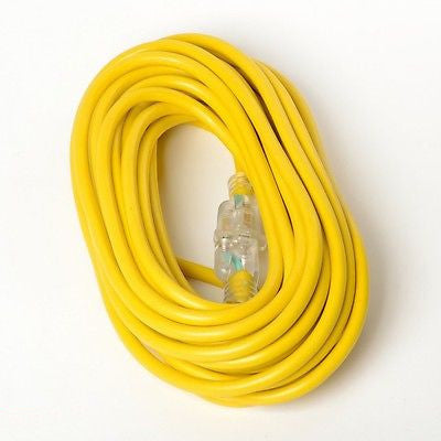 100 Foot Long 12-3 Electric Electrical Extension Power Cord 12 Gauge Guage - JABETC