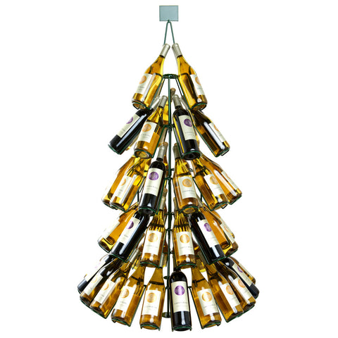 Wine Bottle Christmas Tree - JABETC - 1