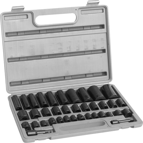 SAE and Metric Impact Socket Set - JABETC - 1