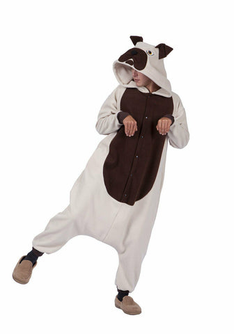 Adult Bull Dog Costume Outfit - tool