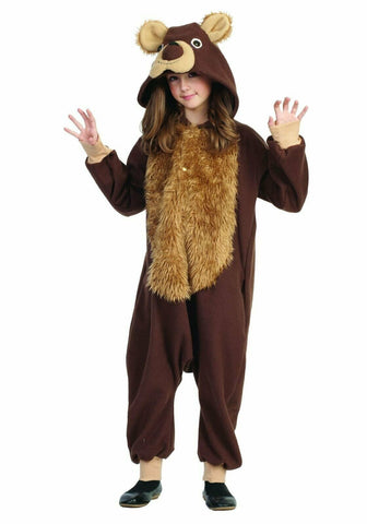 Child's Large Brown Bear Costume Outfit - tool
