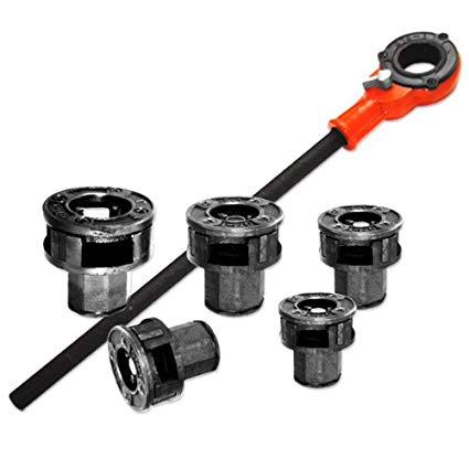 5 Die 7 Piece Ratcheting Pipe Threader