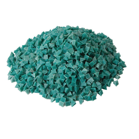 5 Lbs Green Plastic Resin Tumble Media for Bolts and Nuts