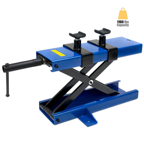 Motorcycle Scissor Lift and Hand Jack - tool