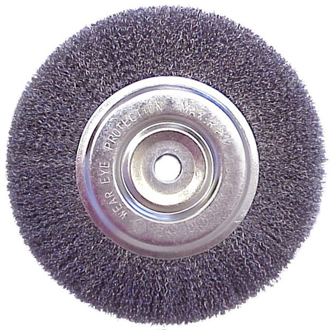 "6"" Wire Brush Wheel - JABETC"