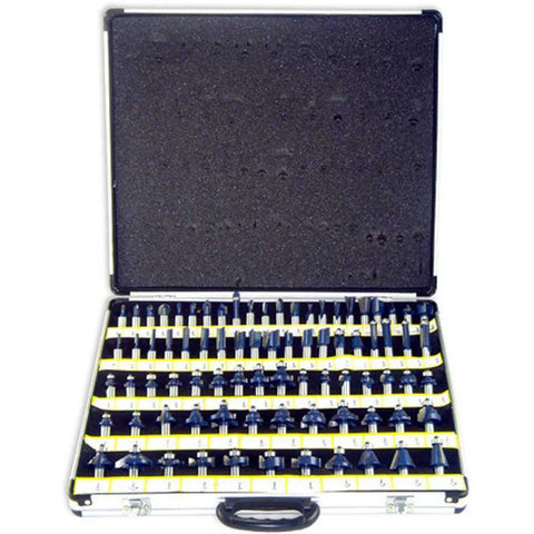 "80 Piece Router Bit Set 1/2"" Shank - JABETC - 1"