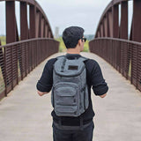 Laptop and Skateboard Backpack - tool