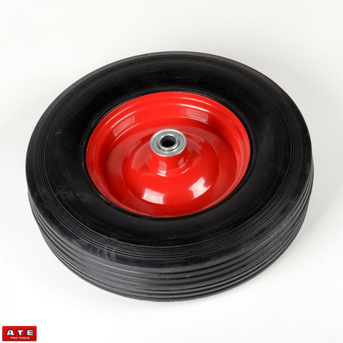 "12"" Replacement Rubber Tire Wheel & Rim - JABETC"