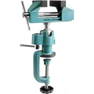 Rotating Ball Swivel Jewelers Hobby Clamp On Bench Vise - tool