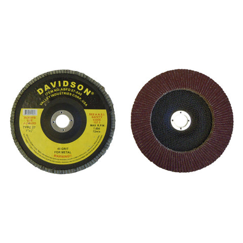 "7"" Flapper Flap  Sanding Wheel Disc 40 Grit - tool"